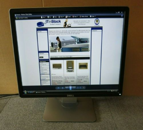 "Dell Professional P1914SF 082K5X 19"" LCD TFT LED IPS Black Monitor VGA DVI DP"